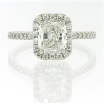 2.37ct Cushion Cut Diamond Engagement Anniversary Ring 2089-1D4376710