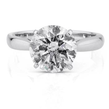 3.27 Round Brilliant Cut Diamond Engagement Anniversary Ring 2783-1D24750786