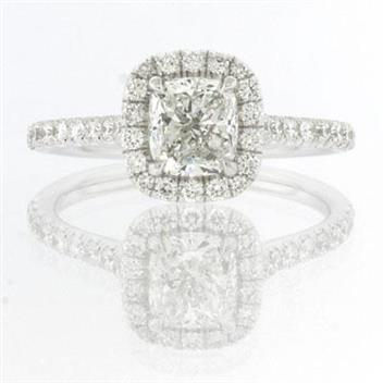 1.80ct Cushion Cut Diamond Engagement Anniversary Ring 2391-1D3912710