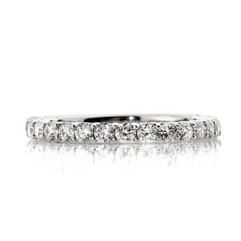 0.85ct Round Brilliant Cut Diamond Wedding Band 2607-1D1017905