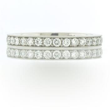 1.00ct Round Brilliant Cut Diamond Eternity Band 2268-1D1146210