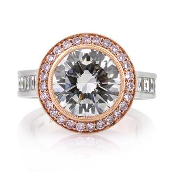 7.23ct Round Brilliant Cut Diamond Engagement Anniversary Ring 2787-1D124665986