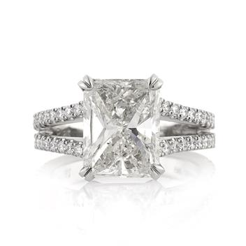 4.70ct Radiant Cut Diamond Engagement Anniversary Ring 3195-1D20739485