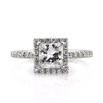 1.85ct Princess Cut Diamond Engagement Anniversary Ring 2637-1D7596795