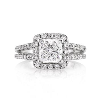 2.32ct Radiant Cut Diamond Engagement Anniversary Ring 2417-1D7681410
