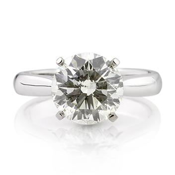 3.07ct Round Brilliant Cut Diamond Engagement Anniversary Ring 2801-1D22733487