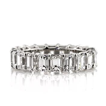 4.75ct Emerald Cut Diamond Eternity Band 2929-1D7152211