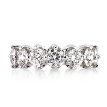 5.50ct Round Brilliant Cut Diamond Eternity Band 2976-1D6414288