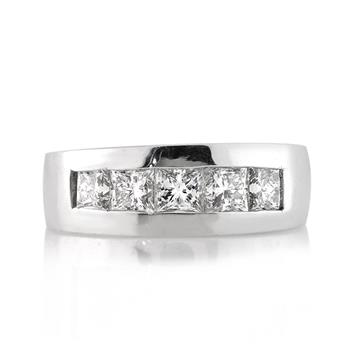 2.71ct Princess Cut Diamond Men's Wedding Band 2994-1D2992571