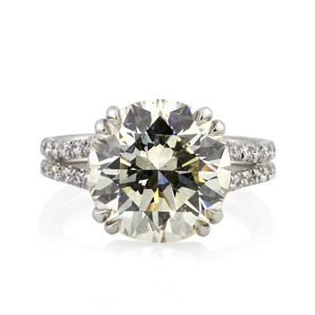 7.44ct Round Brilliant Cut Diamond Engagement Anniversary Ring 2757-1D77001849
