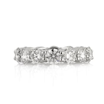 5.25ct Round Brilliant Cut Diamond Eternity Band 3220-1D5722745
