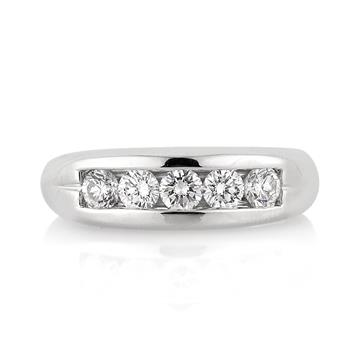1.20ct Round Brilliant Cut Diamond Men's Wedding Band 3239-1D1768844