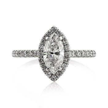 1.67ct Marquise Cut Diamond Engagement Anniversary Ring 2729-1D3465797
