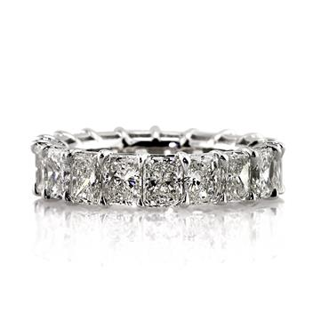7.25ct Radiant Cut Diamond Eternity Band 2930-1D12147375
