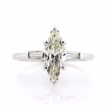 2.15ct Marquise Cut Diamond Engagement Anniversary Ring 2866-1D5390287