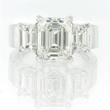 5.20ct Emerald Cut Diamond Engagement Anniversary Ring 1879-1D62818730