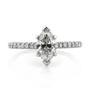 1.52ct Marquise Cut Diamond Engagement Anniversary Ring 2644-1D4137278