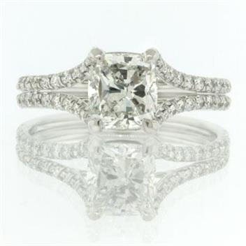 2.02ct Cushion Cut Diamond Engagement Anniversary Ring 2124-1D3691710