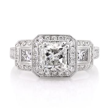 2.60ct Princess Cut Diamond Engagement Anniversary Ring 2794-1D8635786