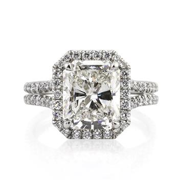 5.15ct Radiant Cut Diamond Engagement Anniversary Ring 2753-1D99001794