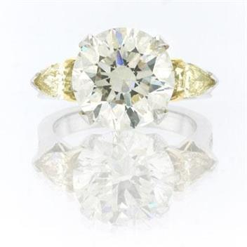 6.77ct Round Brilliant Cut Diamond Engagement Anniversary Ring 2431-1D73701750