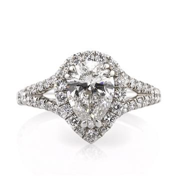 2.57ct Pear Shape Diamond Engagement Anniversary Ring 2471-1D8391915