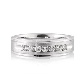 0.50ct Round Brilliant Cut Diamond Men's Wedding Band 3018-1D737885