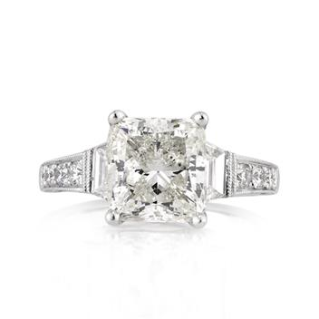 5.22ct Cushion Cut Diamond Engagement Anniversary Ring 3049-1D17677685