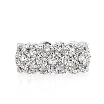 1.80ct Round Brilliant Cut Diamond Eternity Band 2168-1D2856710