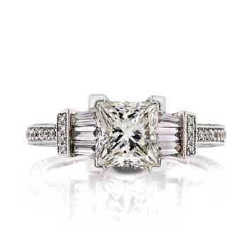 2.58ct Princess Cut Diamond Engagement Anniversary Ring 1396-1D6202915