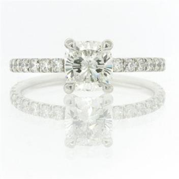 1.69ct Cushion Cut Diamond Engagement Anniversary Ring 2159-1D4751415