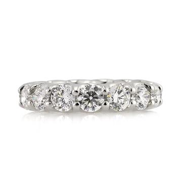 5.00ct Round Brilliant Cut Eternity Band 972-1D
