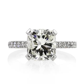 4.42ct Cushion Cut Diamond Engagement Anniversary Ring 2341-1D44004440