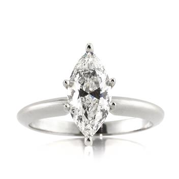 1.50ct Marquise Cut Diamond Engagement Anniversary Ring 2727-1D5316375
