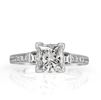 2.72ct Princess Cut Diamond Engagement Anniversary Ring 2693-1D11317274