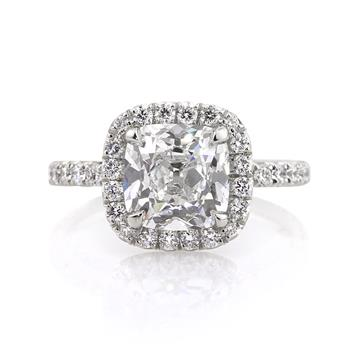 3.50ct Antique Cushion Brilliant Diamond Engagement Anniversary Ring 2821-1D31530487