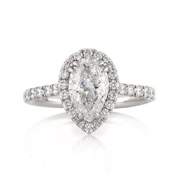 2.50ct Pear Shaped Diamond Engagement Anniversary Ring 3210-1D7878215