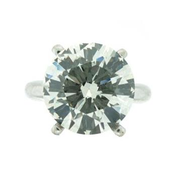 7.46ct Round Brilliant Cut Diamond Engagement Anniversary Ring 1545-1D746JIF18