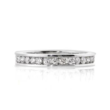 1.00ct Round Brilliant Cut Diamond Eternity Band 1638-1D493910