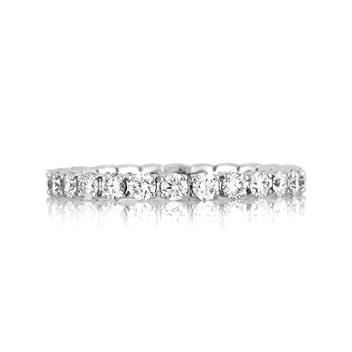 1.20ct Round Brilliant Cut Diamond Eternity Band 1966-1D891710