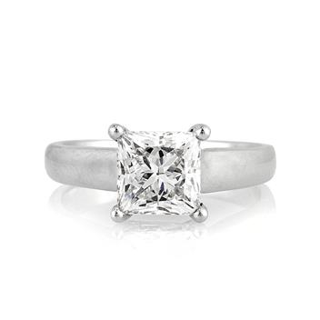 2.03ct Princess Cut Diamond Engagement Anniversary Ring 3127-1D14300785