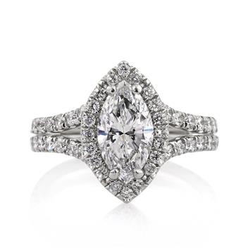 3.31ct Marquise Cut Diamond Engagement Anniversary 2688-1D231017_141_190_PLAT