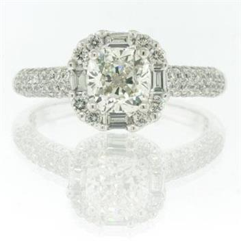 2.02ct Cushion Cut Diamond Engagement Anniversary Ring 2196-1D3471710
