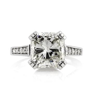 5.81ct Radiant Cut Diamond Engagement Anniversary Ring 2340-1D418008_501_080_14K