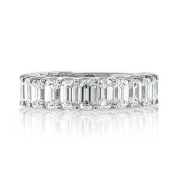 4.00ct Emerald Cut Diamond Engagement Anniversary Ring 2062-1D4838440