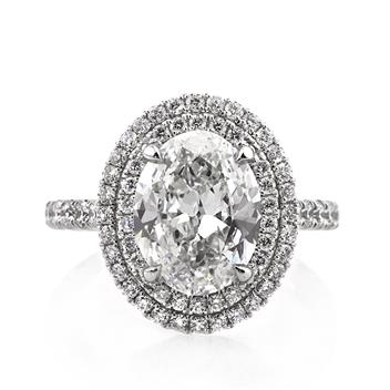 4.12ct Oval Cut Diamond Engagement Anniversary Ring 2948-1D65046754