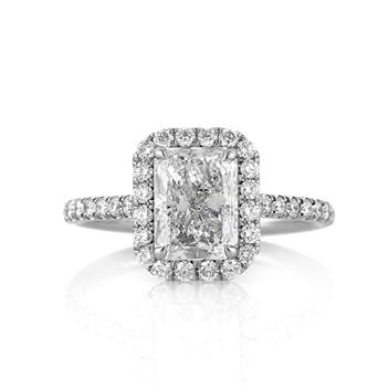 2.77ct Radiant Cut Diamond Engagement Anniversary Ring 3242-1D19276101