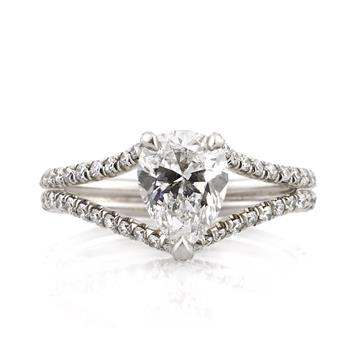 1.98ct Pear Shape Diamond Engagement Anniversary Ring 1700-1D10980815