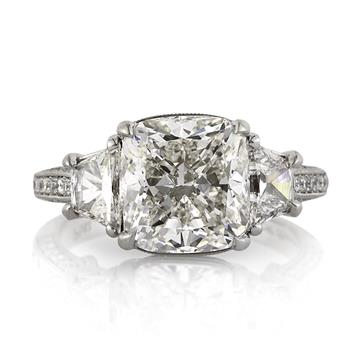 5.23ct Cushion Cut Diamond Engagement Anniversary Ring 3207-1D37935748
