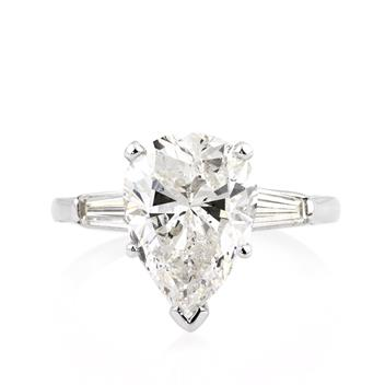 5.38ct Pear Shape Diamond Engagement Anniversary Ring 2429-1D46750255